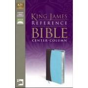 KJV Reference Bible, Brown/Blue, Red Letter Ed.