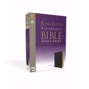 KJV Reference Bible Giant Print, Black