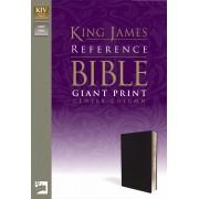 KJV Reference Bible Giant Print, Navy
