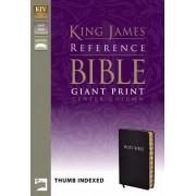 KJV Reference Bible, Giant Print Indexed, Black
