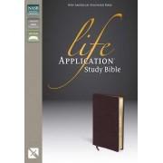 NASB Life Application Study Bible, Pink/Purple