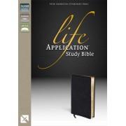 NASB Life Application Study Bible, Black