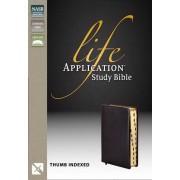 NASB Life Application Study Bible, Black, Indexed