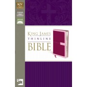 KJV Thinline Bible, Red/Pink, Red Letter Ed.
