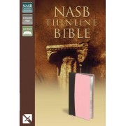 NASB Thinline Bible Pink/Brown