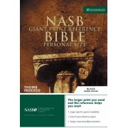 NASB Personal Size Reference Bible, Giant Print, Indexed