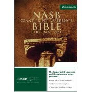 NASB Personal Size Reference Bible, Burgundy, Giant Print