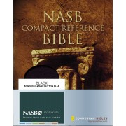 NASB Compact Reference Bible, Black, Red Letter Ed.
