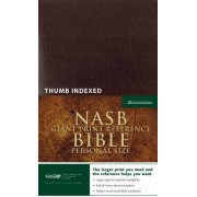 NASB Personal Size Reference Bible Giant Print Indexed