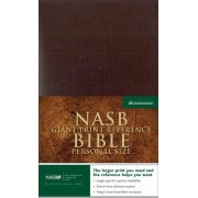 NASB Personal Size Reference Bible, Giant Print, Burgundy