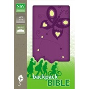 NIRV Backpack Bible Flutter Purple