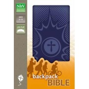 NIRV Backpack Bible Pow Blue