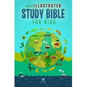 HCSB Illustrated Study Bible For Kids, Printed Hardcover