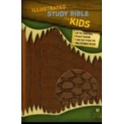 HCSB Illustrated Study Bible For Kids, Brown Simulated Leath