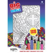 HCSB Big Picture Interactive Bible, Color-Your-Own, Cross