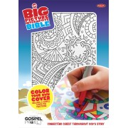 NKJV Big Picture Interactive Bible, Color-Your-Own, Cross