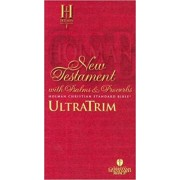 HCSB Ultratrim New Testament With Psalms And Proverbs - Pape