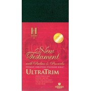 HCSB Ultratrim New Testament With Psalms And Proverbs - Blac