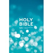 NIV Popular Blue Hardback Bible