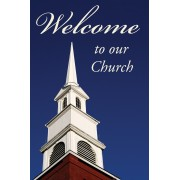 Welcome To Our Church (Pack Of 25)