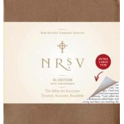 NRSV XLarge Print Bible Amalfi Cover Brown