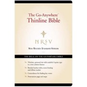 NRSV: Go-Anywhere Thinline Bible, Bonded Leather, Black