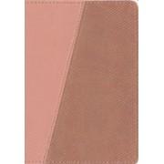 Message Bible, Compact, Imitation Leather, Pink Python