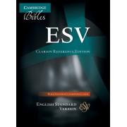 ESV Clarion Reference Edition Es486:Xe Black Goatskin Leathe