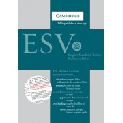 ESV Pitt Minion Reference Bible, Brown Calfsplit Leather, Re