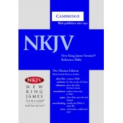 NKJV Pitt Minion Reference Edition Nk443:Xr Black French Mor