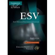 ESV Pitt Minion Reference Edition Es446:Xr Black Goatskin Le