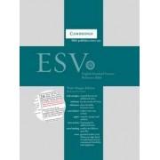ESV Wide Margin Reference Bible, Black Edge-Lined Goatskin L