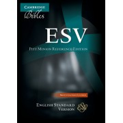 ESV Pitt Minion Reference Edition Es446:X Brown Goatskin Lea
