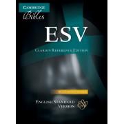 ESV Clarion Reference Edition Black Calf Split Leather Es483