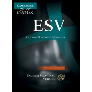 ESV Clarion Reference Edition Brown Calfskin Leather Es485:X
