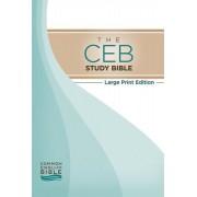 CEB Study Bible Large Print, The