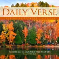 Daily Verse 2016 Desktop Calendar