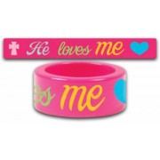 Fun Ring He Loves Me Size 6
