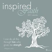 2017 Inspired By Faith Wall Calendar