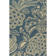 Esv Personal Reference Bible (Cloth Over Board, Blue Flora)