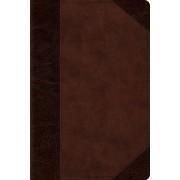 Esv Personal Reference Bible (Trutone, Brown/Walnut, Portfol