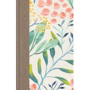 Esv Large Print Thinline Reference Bible (Berries And Blooms