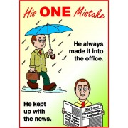 Tracts: His One Mistake 50-pack